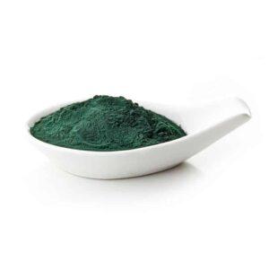 אבקת אצה כחולה ירוקה