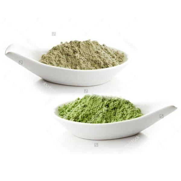 אצה כחולה ירוקה וקונג'אק לדיאטה